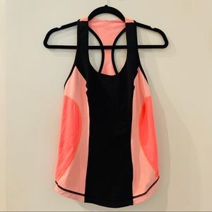 Lululemon | Cardio Kick Orange Tank Top Size 10